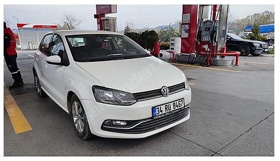 VW POLO 1.4TDI COMFORT DSG 2016 74BİM KM HATASIZ TRAMERSİZ ACİL
